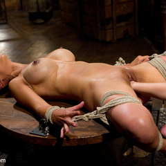 Hard bodied lactating slut get brutally, - Unique Bondage - Pic 6