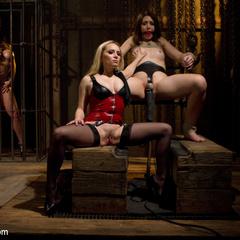 Innocent girl is locked in chastity, - Unique Bondage - Pic 4