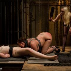 Innocent girl is locked in chastity, - Unique Bondage - Pic 7