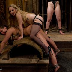 Innocent girl is locked in chastity, - Unique Bondage - Pic 9