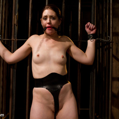 Innocent girl is locked in chastity, - Unique Bondage - Pic 15