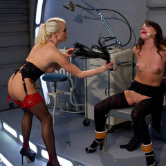 Hot lesbian domination with sexy lezdom and - Unique Bondage - Pic 3