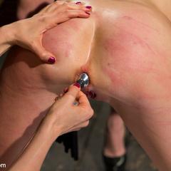 Pain slut is taken down by two hot blonde - Unique Bondage - Pic 11