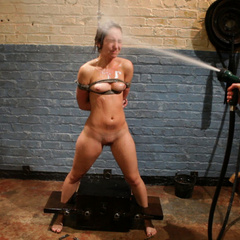 Sexy blonde lezdom pops 23 yr old cutie's - Unique Bondage - Pic 13
