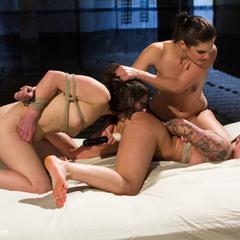 2 sluts try to satisfy 2012's AVN performer - Unique Bondage - Pic 7