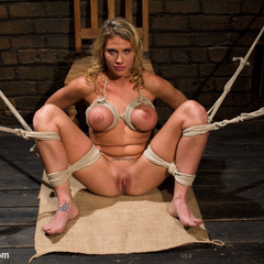 Charisma's obsession is realized when Chanel - Unique Bondage - Pic 14