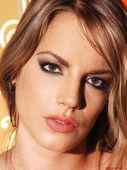 Blonde babe Lara in latex masturbating with - Unique Bondage - Pic 16