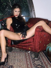 Steaming hot Jessica Jaymes smokes and - Unique Bondage - Pic 3