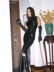 Steaming hot Jessica Jaymes smokes and - Unique Bondage - Pic 5