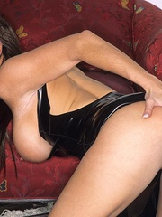 Steaming hot Jessica Jaymes smokes and - Unique Bondage - Pic 9