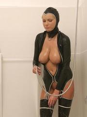 Hot Porn Star Hanna Hilton in a tight - Unique Bondage - Pic 11