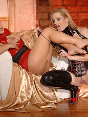 Check out sexy PVC babes Dorothy Black and - Unique Bondage - Pic 5