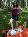 Petite restrained teens get humuliated - Picture 5