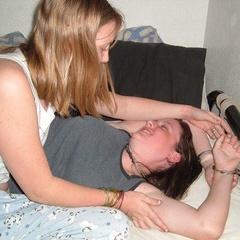 Amateur adorable girlfriends get dominated - Unique Bondage - Pic 1