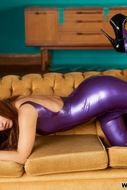 Jennifer all purple - Unique Bondage - Pic 7