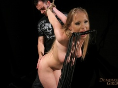 Kira Banks dominated hard by her master - Unique Bondage - Pic 5