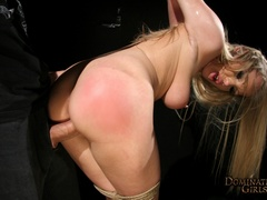 Kira Banks dominated hard by her master - Unique Bondage - Pic 8