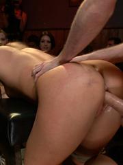 Tied up blonde slave chick gets her mouth - Unique Bondage - Pic 13