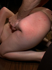 Busty gagballed beauty completely - Unique Bondage - Pic 10