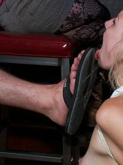 Blonde physical sex