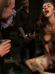 Innocent lloking blonde slave used up and - Unique Bondage - Pic 13