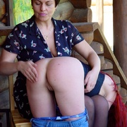 Beautiful Russian redhead breaking out into - Unique Bondage - Pic 1