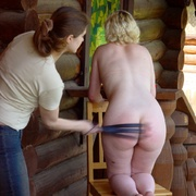 Beautiful Russian redhead breaking out into - Unique Bondage - Pic 2
