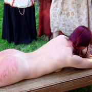 Beautiful Russian redhead breaking out into - Unique Bondage - Pic 9