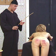Young nun stripped naked and brutally caned - Unique Bondage - Pic 11
