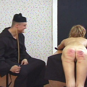 Young nun stripped naked and brutally caned - Unique Bondage - Pic 13