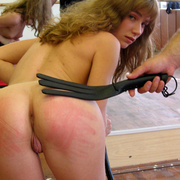 Burning blistered bare ass and tears of pain - Unique Bondage - Pic 13