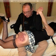 Stealing money earns her an extra spanking - Unique Bondage - Pic 11
