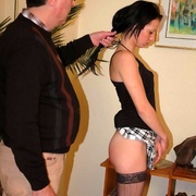 Stealing money earns her an extra spanking - Unique Bondage - Pic 13