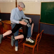 Classroom OTK spankings and humiliation for - Unique Bondage - Pic 3