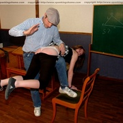 Classroom OTK spankings and humiliation for - Unique Bondage - Pic 5