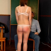 Classroom OTK spankings and humiliation for - Unique Bondage - Pic 8