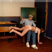 Classroom OTK spankings and humiliation for - Unique Bondage - Pic 9