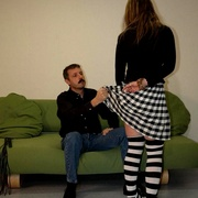 Filthy young bitch taken OTK for a harsh - Unique Bondage - Pic 4
