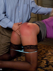Office girl gets tied up and ass banged by - Unique Bondage - Pic 4