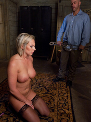 Office girl gets tied up and ass banged by - Unique Bondage - Pic 5