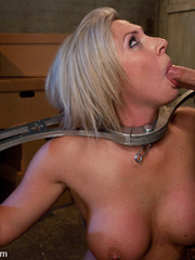 Office girl gets tied up and ass banged by - Unique Bondage - Pic 6