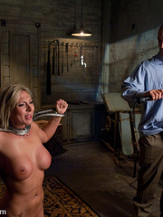Office girl gets tied up and ass banged by - Unique Bondage - Pic 8