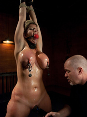Super busty restrained blonde milf in hot - Unique Bondage - Pic 7