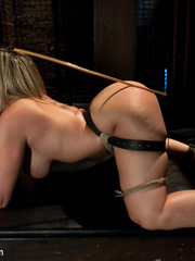 Super busty restrained blonde milf in hot - Unique Bondage - Pic 8