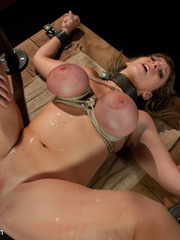 Super busty restrained blonde milf in hot - Unique Bondage - Pic 13