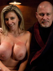 Super busty restrained blonde milf in hot - Unique Bondage - Pic 15