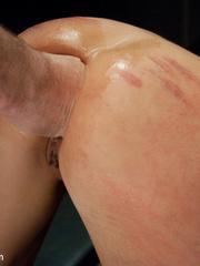 Big boobed enslaved nymph treated like a - Unique Bondage - Pic 6
