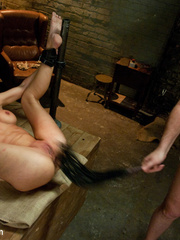 Big boobed enslaved nymph treated like a - Unique Bondage - Pic 14