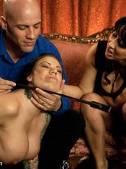 Underground sex slave in tight stockings in - Unique Bondage - Pic 2
