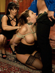 Underground sex slave in tight stockings in - Unique Bondage - Pic 5